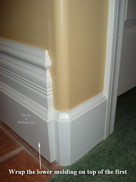 how to build baseboard 103 for about 2 24 ft the of moldings