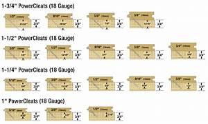 18 Gauge Powercleats Flooring Nails Powernail