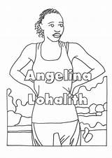 Riverdale Colouring Flipsnack Abba Refugee Olympic Team Sharon sketch template