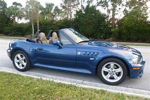 Sell used 2002 BMW Z3 Roadster Convertible 2 5 Topaz Blue