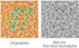rot grün schwäche abb 6 kurztest für rot grün schwäche