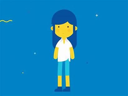 Animation Animated Motion Flat Knowledge Schools Samsung
