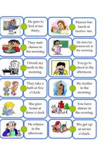 printable reading passages daily activities for esl images frompo