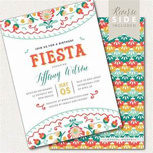 fiesta birthday invitation mexican invite printable With free printable mexican wedding invitations