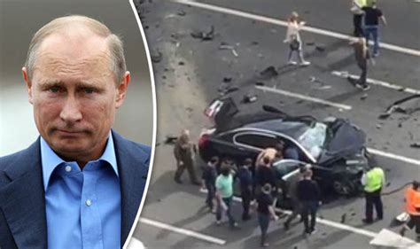 Putin Car Crash by Vladimir Putin S Driver Dead After On Collision