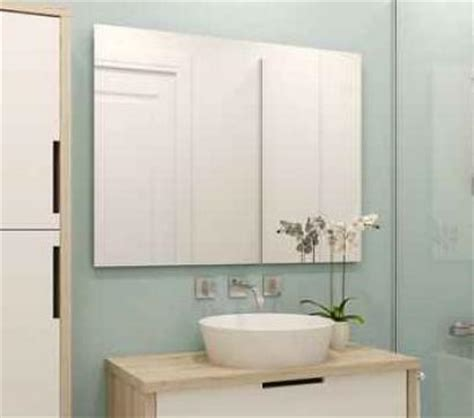 conduit hotte cuisine homeinox lot de 2 miroir incassable 60 x 40 cm home inox