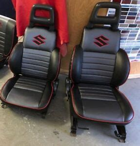 Suzuki Samurai Seat Covers by 1986 1995 Suzuki Samurai Kit Seat Covers And Panels Skins