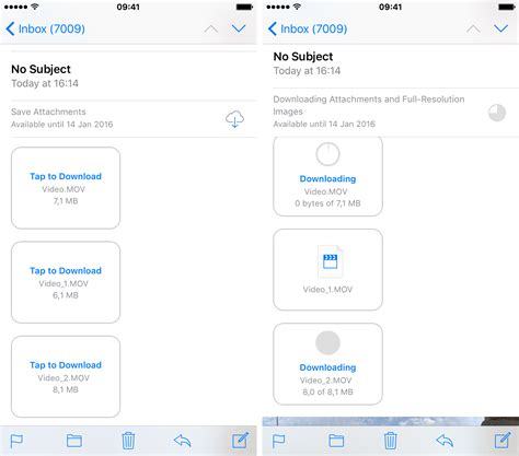 send large from iphone how to send large attachments with mail drop on ios