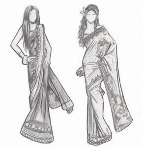 Indian Fashion Sketches by IBurntMyToast on DeviantArt ...