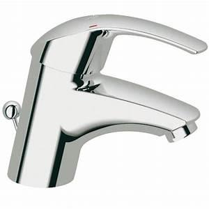 Mitigeur de lavabo Eurosmart Achat / Vente robinetterie sdb Mitigeur Grohe Eurosmart L Cdiscount
