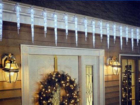 outdoor icicle lights liven your home with mood warisan lighting - Icicle Outdoor Christmas Lights