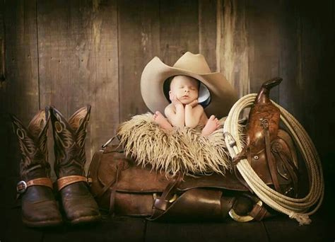 cute cowboy newborn photo cowboy   life pinterest