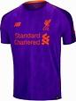 2018/19 New Balance Liverpool Away Jersey - SoccerPro