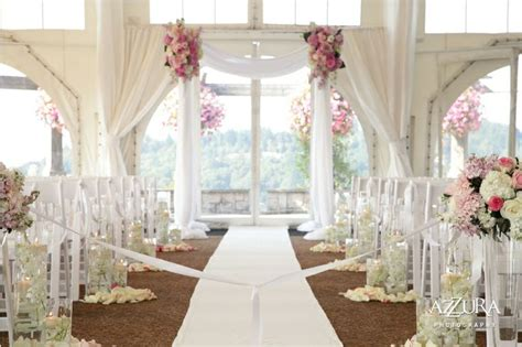 Floral Tablecloth Reception Pink Floral Accents