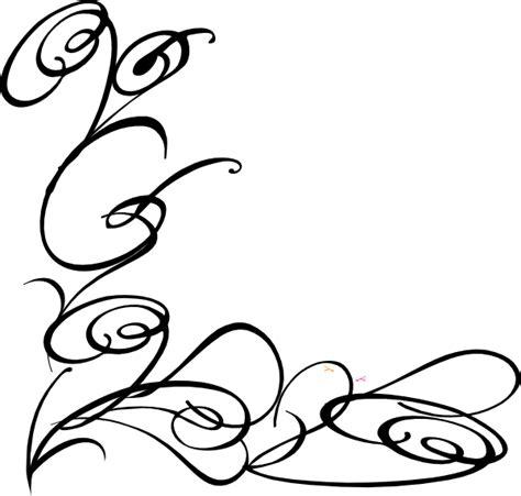 Decorative Swirls - decorative swirl clip at clker vector clip