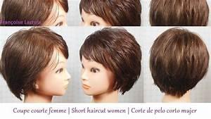Coupe En Or : coupe courte femme frange short haircut for women bangs corte de pelo mujer corto ~ Medecine-chirurgie-esthetiques.com Avis de Voitures