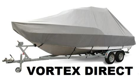 18 Center Console Boat Covers by Vortex Heavy Duty T Top Center Console Boat Cover For 18