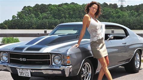 Girls & Cars Hd Wallpaper