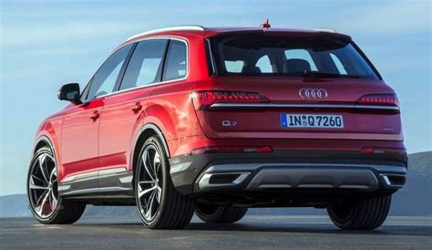 Audi Q7 2020 Update by 2020 Audi Q7 Facelift With A Range Of Interior Updates
