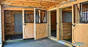 6 stall horse barn floor plans With 5 stall horse barn