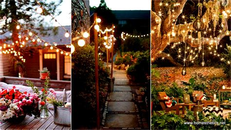Backyard String Lighting Ideas by 24 Jaw Dropping Beautiful Yard And Patio String Lighting