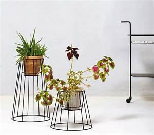 Support Plante Intérieur : cache pot sur pied et support pour plante 19 id es d co ~ Teatrodelosmanantiales.com Idées de Décoration