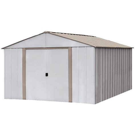 Home Depot Arrow Shed - arrow commander 10 ft x 20 ft dipped galvanized