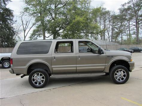 2003 Ford Excursion Limited LIFTED 4X4 DIESEL In Houston