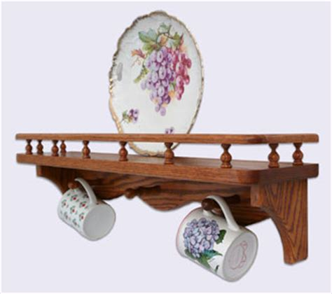 wall mounted oak wood shelves modern style