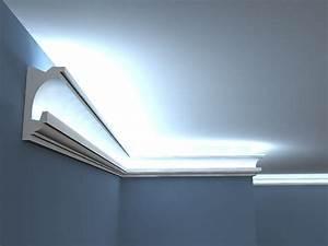 Led Indirekte Beleuchtung Decke : led indirekte beleuchtung lo 24 wandlichtleiste ~ Frokenaadalensverden.com Haus und Dekorationen