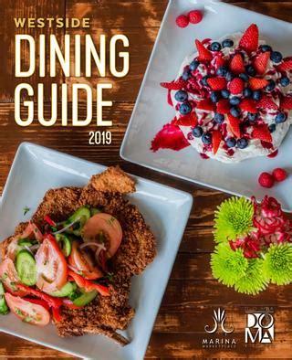 westsides dining guide   kate issuu