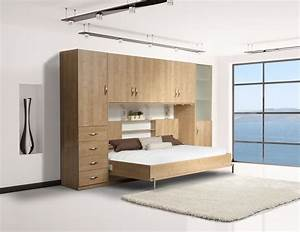 Lit Double Escamotable Ikea : lit mural escamotable lm507 109 boutique tendance ~ Melissatoandfro.com Idées de Décoration