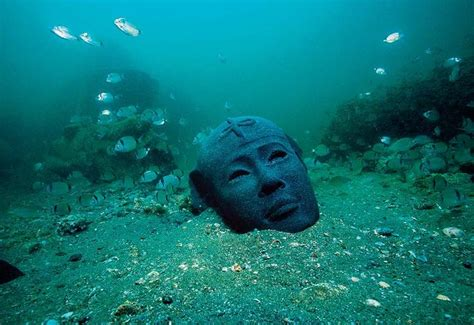 discovering  lost city  heracleion egyptian streets