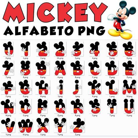 letras do abecedario do mickey alfabeto mickey mouse letras e numeros arquivo png 00021