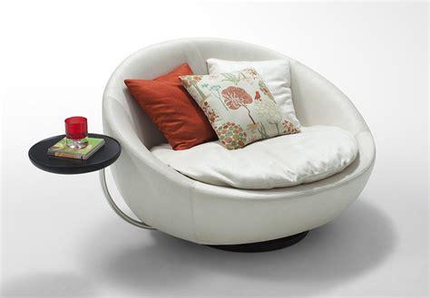 divani casa alba modern leatherette swivel  lounge