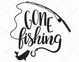 Fishing Gone Svg Clipart Vector Silhouette Cricut Fish Cutting Sign Quotes Fishin Cilpart Cut Mourne Reports Getdrawings Google Going Eps sketch template