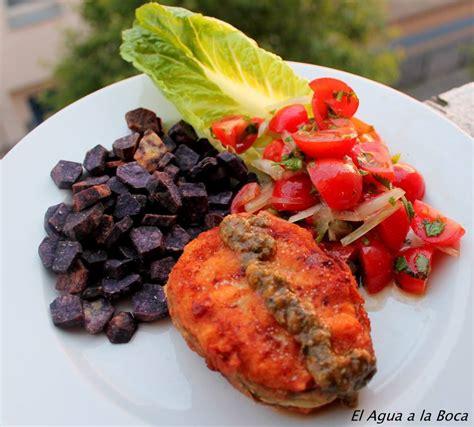 cuisine chilienne recette de cuisine chilienne el agua a la boca