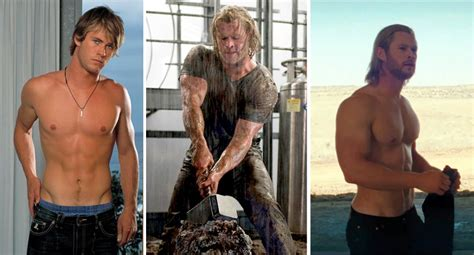 chris hemsworth took steroid