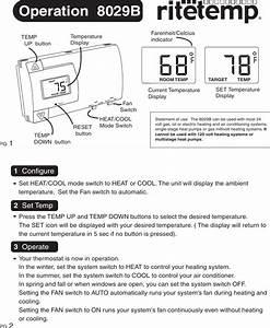 Ritetemp 8029b Owner S Manual 1