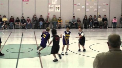 Boys Youth Basketball Plays For 3rd Grade Youtube