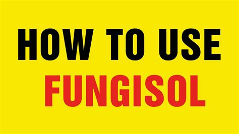 How To Use A Red Cushions In Decorating: How To Use Fungisol