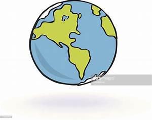 Globe Terrestre Carton : earth world globe floating cartoon vector art getty images ~ Teatrodelosmanantiales.com Idées de Décoration