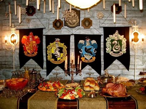 harry potter table l 17 best images about harry potter birthday party on