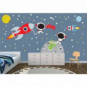 star wall decals for nursery for kids With space wall decals