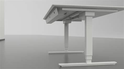 bureau classique bureau assis debout blanc classique