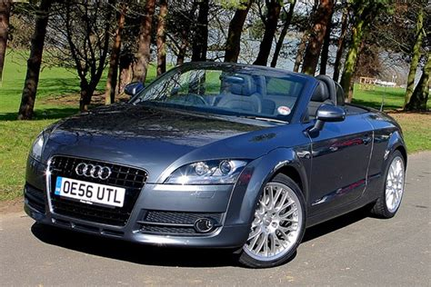 audi tt roadster from 2007 used prices parkers
