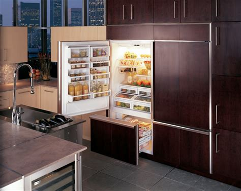 ge monogram  built  bottom freezer refrigerators