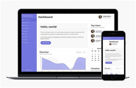 Dashboard Bootstrap Bootstrap 4 Admin Dashboard Template Medialoot
