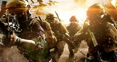 Battlefield Soldier Military Wallpapers Weapon Desktop Deviantart