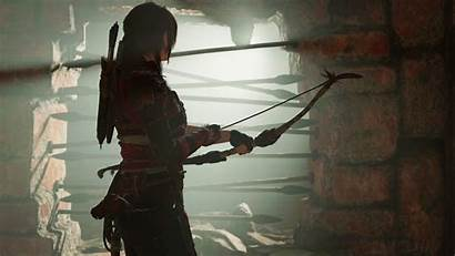 Raider Tomb Shadow Lara Croft Fondo Wallpapers